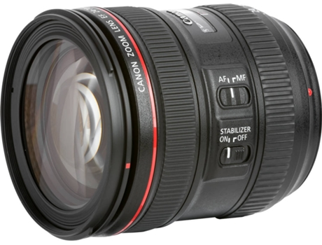 Objetiva CANON EF 24-70mm 4.0L IS USM — Abertura: f/22