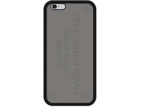 Capa TRUSSARDI Metal Case iPhone 7 Silver — iPhone 7