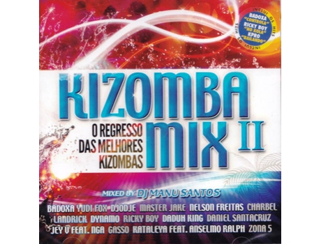 CD Kizomba Mix II — Kizomba