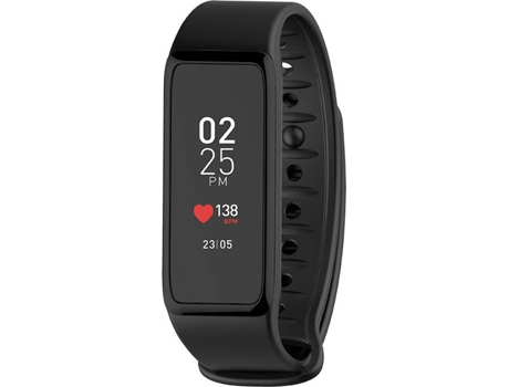 Smartwatch MY KRONOZ ZEFIT3HR Preto — Bluetooth | 100 mAh | Android, iOS e Windows Phone