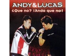 CD/DVD Andy & Lucas - ¿que no? (anda que no) — Pop-Rock