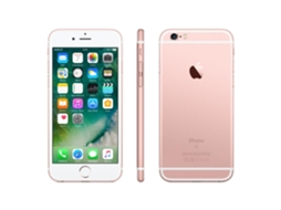 Smartphone APPLE iPhone 6s 32GB Rosa Dourado — iOS 10 | 4.7'' | A9