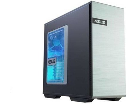 Desktop Gaming ASUS Station Tower GS30 (Intel Core i5-8500 - NVIDIA GeForce RTX 2070 - RAM: 16 GB - 1 TB HDD + 256 GB SSD)