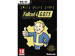 Jogo PC Fallout 4: GOTY (Game of the Year Edition) — FPS / Idade mínima recomendada: 18
