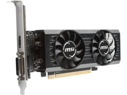 Placa Gráfica MSI Radeon RX 550 OC Low Profile (AMD - 4 GB DDR5) — AMD | RX 550