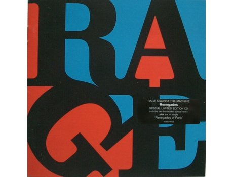 CD Rage Against The Machine - Renegades