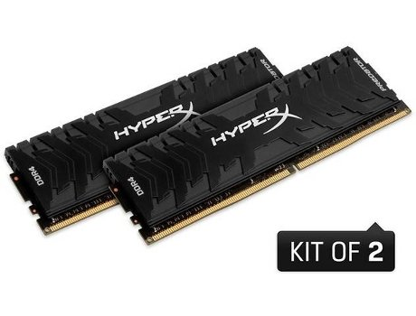 Memória RAM KINGSTON Hyperx Predator 16GB DDR4 3000Mhz CL15 DIMM (Kit de 2) — 16GB | DDR4 | 3000Mhz