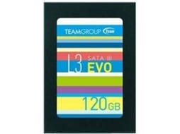 Disco SSD TEAM GROUP 120 GB SATA3 L3 EVO  — 2.5'' / 120 GB / SATA3 L3
