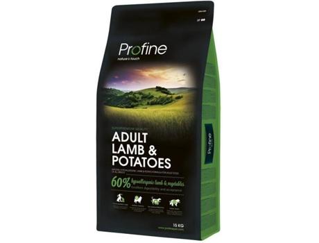 PROFINE - Ração para Cães PROFINE (15Kg - Seca - Adulto - Sabor: Borrego)