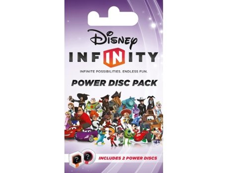 Figura Disney Infinity - Power Disc Pack 2 Pack — Inclui 2 Power Disc