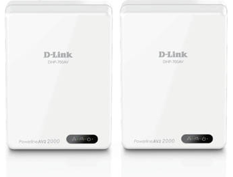Kit Powerline D-LINK AV2 2000 DHP-701AV — 1Gbps