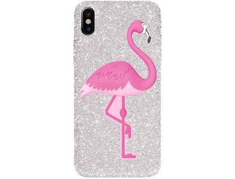 Capa BENJAMINS 3D Flaming iPhone 6, 6s, 7, 8 Rosa — Compatibilidade: iPhone 6, 6s, 7, 8