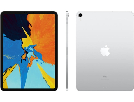 iPad Pro 2018 APPLE (11'' - 64 GB - Wi-Fi - Prateado)