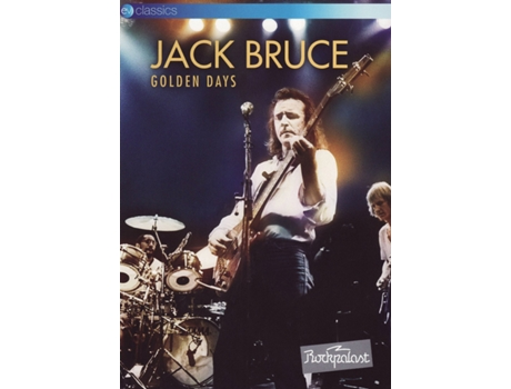 DVD Jack Bruce - Golden Days