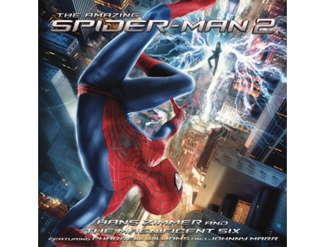 CD Various Artists - The Amazing Spider-man 2 — Pop-Rock