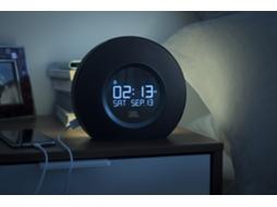 36dc0205205 Rádio Despertador JBL Horizon (Preto - Digital - Alarme Duplo - Função  Snooze - Corrente