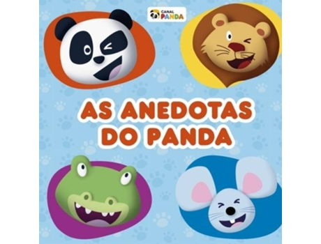 Livro As Anedotas do Panda — Infantil
