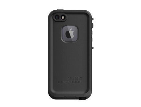 Capa OTTERBOX Lifeproof iPhone 5, 5s, SE Preto — Compatibilidade: iPhone 5, 5s, SE