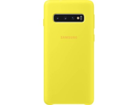 Capa SAMSUNG Galaxy S10 Silicone Cover Amarelo