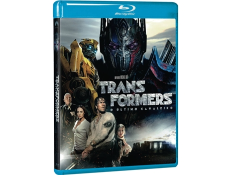 Blu-Ray Transformers - O Último Cavaleiro — De: Michael Bay  | Com: Mark Wahlberg,  Anthony Hopkins,  Josh Duhamel