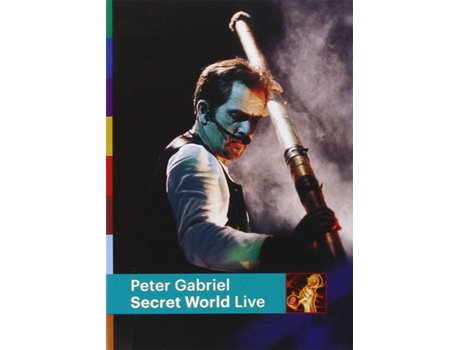 DVD Peter Gabriel - Secret World Live