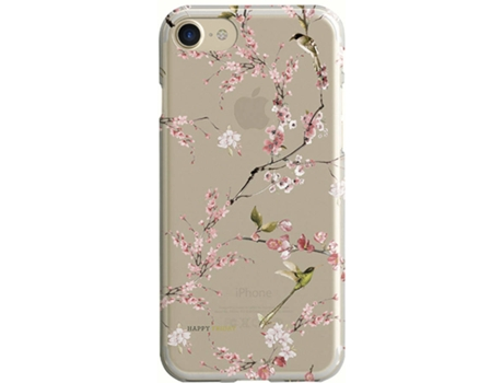 Capa HAPPY FRIDAY Chinoiserie iPhone 7, 8 Rosa — Compatibilidade: iPhone 7, 8