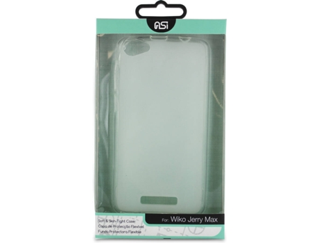 Capa ASI TPU Wiko Jerry Max Transparente — Compatibilidade: Wiko Jerry Max