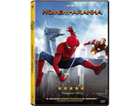 DVD Homem-Aranha: Regresso a Casa — De: Jon Watts / Com:  Tom Holland, Michael Keaton, Robert Downey Jr.