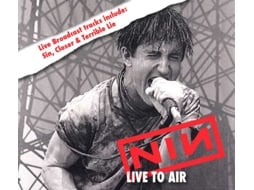 CD Nine Inch Nails - Live To Air