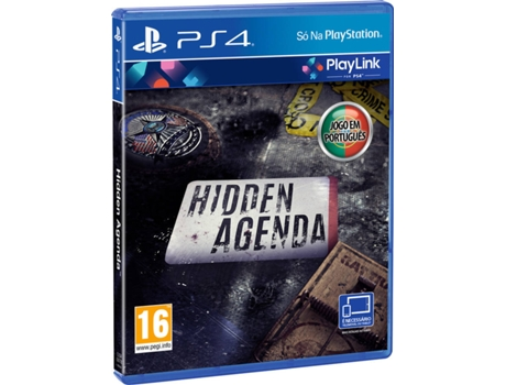 Jogo PS4 Hidden Agenda (PlayLink) — Familiar | Idade mínima recomendada: 16