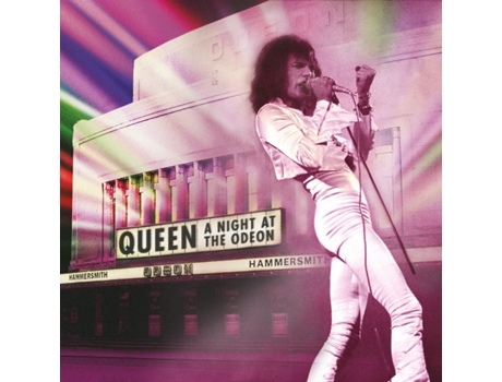 CD/DVD Queen: A Night At The Odeon — Pop-Rock