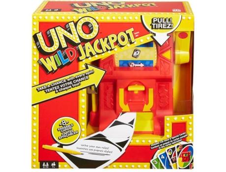 Mattel - Jogo de Cartas MATTEL Uno: Wild Jackpot