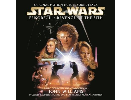 CD/DVD OST Star Wars Episode III - Revenge of the Sith — Banda Sonora