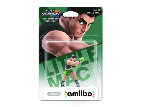 Figura Amiibo Wii U Smash Little Mac — Coleção: Super Smash Bros