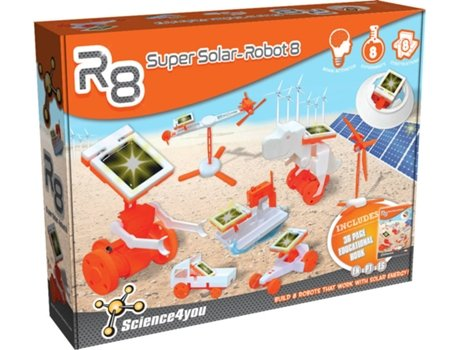 Kit SIENCE4YOU Robotics - Super Solar SC — Idade mínima recomendada: 12