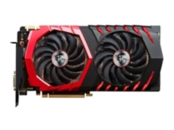 Placa Gráfica MSI GEFORCE GTX 1080 GAMING X 8GB DDR5 — GeForce GTX 1080 | 1708 MHz | 8192 DDR5X