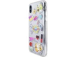 Capa BENJAMINS Stickers Apple iPhone X Multicor — Compatibilidade: iPhone X