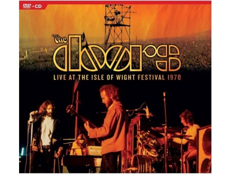DVD+CD The Doors - Live At The Isle Of Wight Festival 1970: Confidencial !!! — Pop-Rock