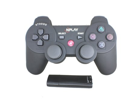 Comando NPLAY Wireless Dualshock 6AXIS PS3/PC — PS3 | Sem Fios