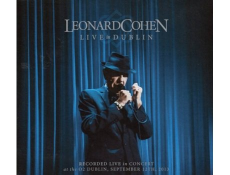 CD Leonard Cohen - Live In Dublin — Pop-Rock