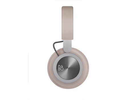Auscultadores Bluetooth BANG&OLUFSEN BeoPlay H4 (On Ear - Microfone - Bege) — On Ear | Microfone | Atende chamadas