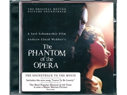 CD Andrew Lloyd Webber - The Phantom Of The Opera (The Original Motion Picture Soundtrack)
