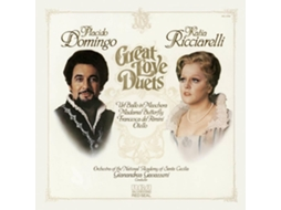 CD Placido Domingo Great Love Duets — Clássica