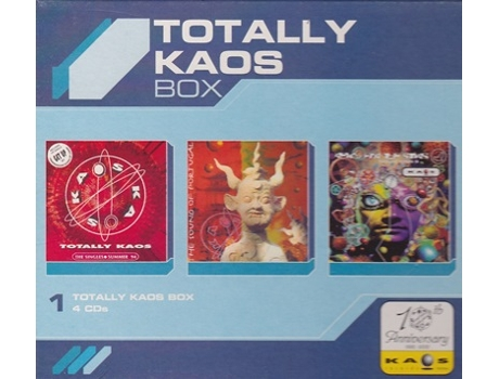 CD Totally Kaos Box — House / Electrónica