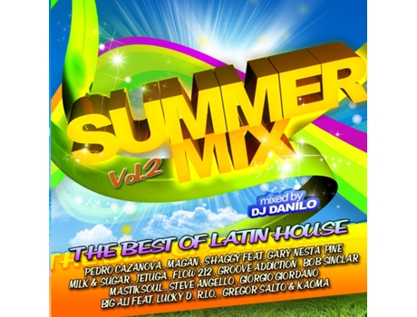 CD Vários - Summer Mix Vol.2 - Mixed By Dj Danilo — Portuguesa