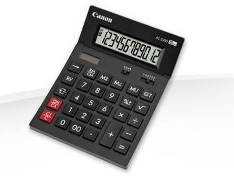 Calculadora CANON AS-2200 HB — Calculadora | Secretária