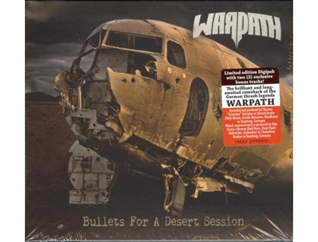 CD Warpath  - Bullets For A Desert Session