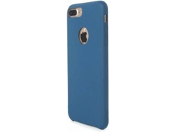 Capa TUCANO Velluto iPhone 7 Plus Azul — Compatibilidade: iPhone 7 Plus