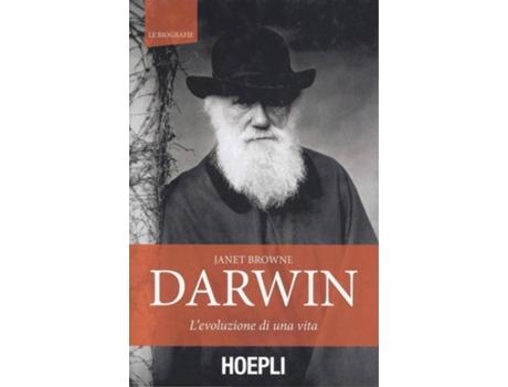 HOEPLI - Livro Darwin de Janet Browne (Italiano)