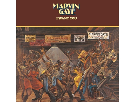Vinil Marvin Gaye - I Want You — Soul / Hip-Hop / ReB
